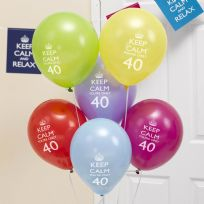 Keep Calm You're Only 40 Balloons (8)